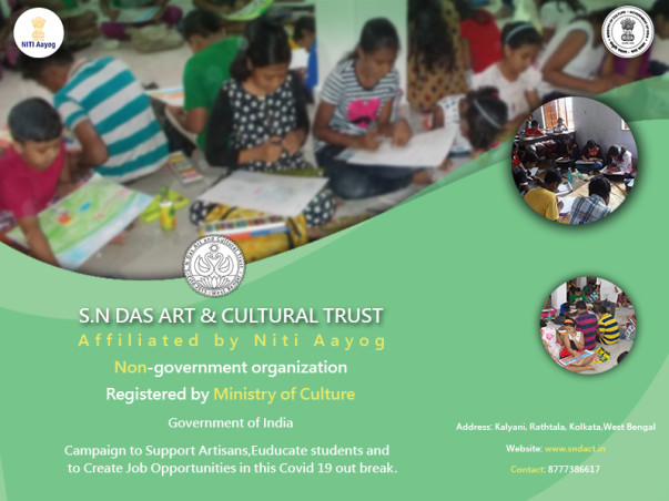 #Support Artisan, Educating Students & Create Job Opportunities.