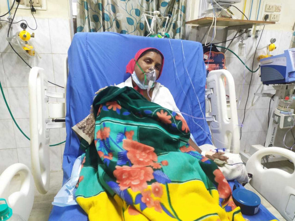 Sarala Devi needs your help to recover!