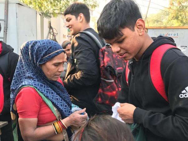 Help the migrant labourers of Dhaula Kuan Basti