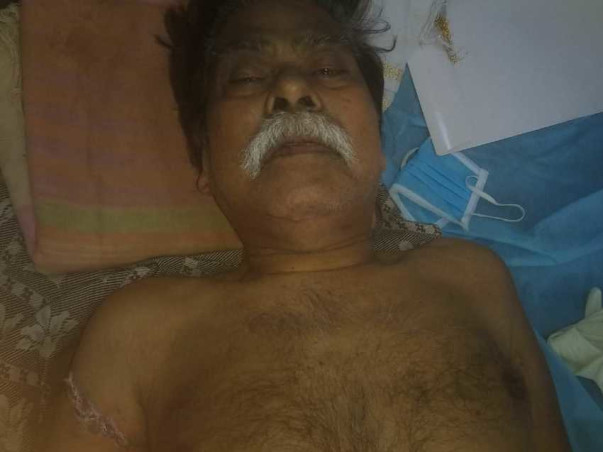 74 Years Old Gurunath Kakade Needs Your Help To Recover From Fracture Cervical Vertebra