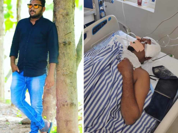 Help my friend Mudrakola venkatarama fight Road traffic accident with polytrauma