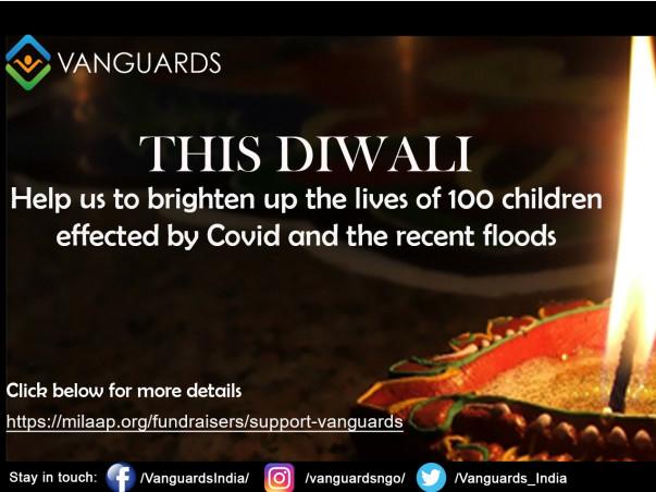 Spread joy to 100 kids this Diwali