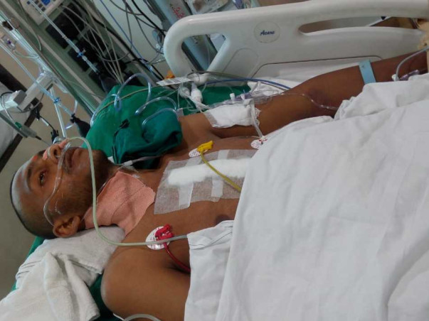 Help shubham for heart transplantation