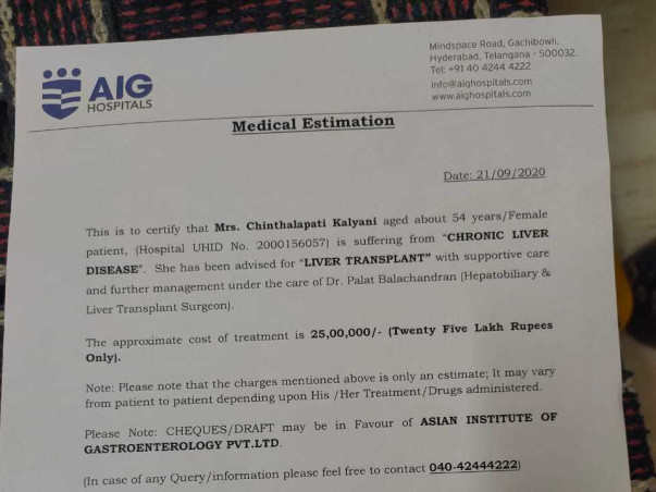 Help My Relative Fight Liver Transplantation