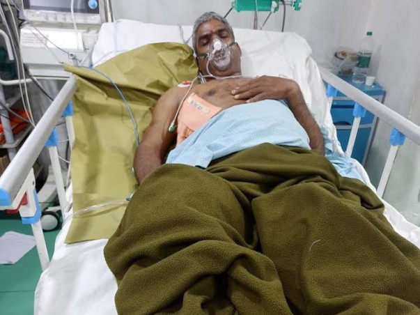 Support P Narsimha Reddy Recover From Accident Multiple Injury