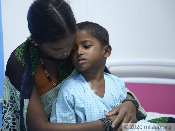 5 years old Naveen needs your help fight Acute lymphoblastic leukemia (all)