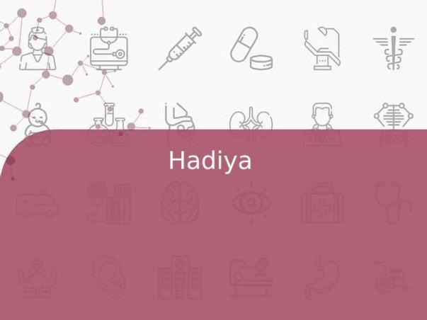 Hadiya Is Struggling With Brain Tumor, Help Him