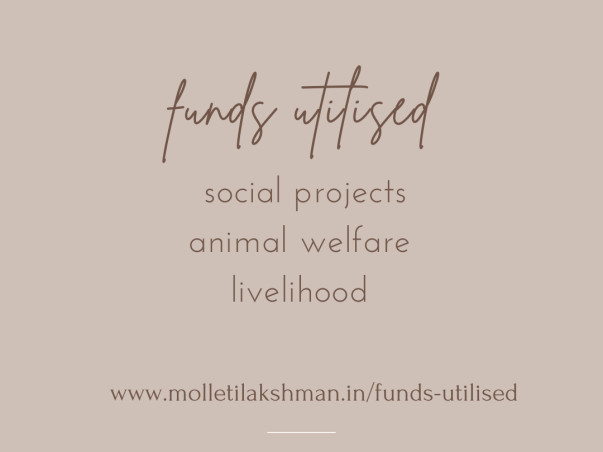 Help Molleti Lakshman a Social Ideator for Animals