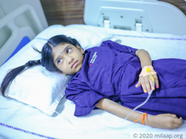 My 7 year old daughter needs an urgent Liver Transplant and need your help