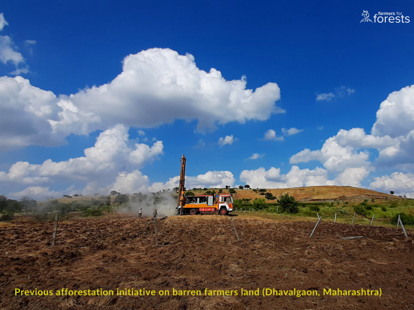 Plant 40,000 trees on degraded land to support farmers in Maharashtra