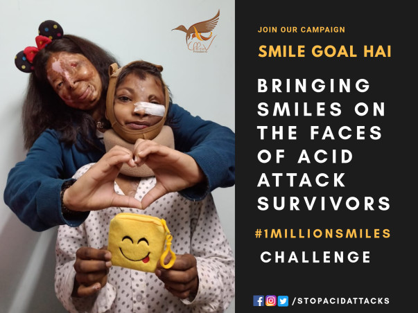 Help acid attacks survivors in the biggest campaign for their Survival