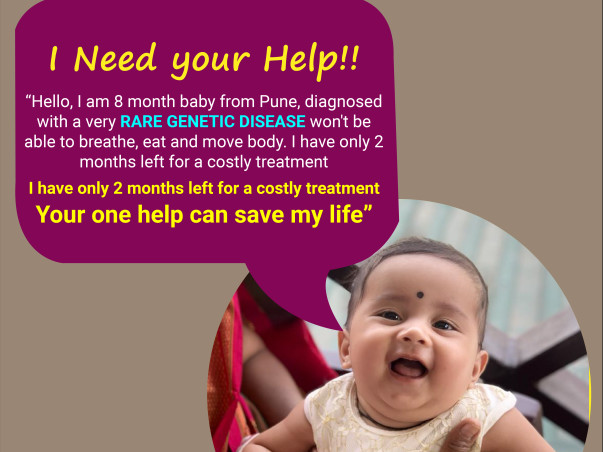 Vedika Won't Make It To Her 1st Birthday Without Your Help!