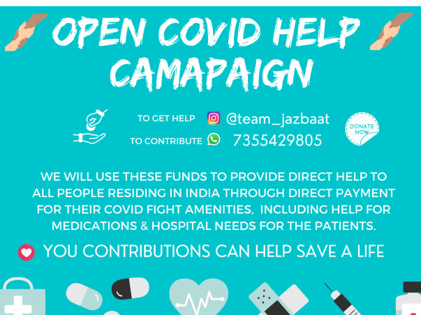 WE ARE HELPING COVID PATIENTS AROUND INDIA