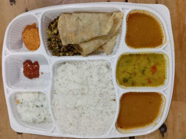 Covid Patient Meal Box