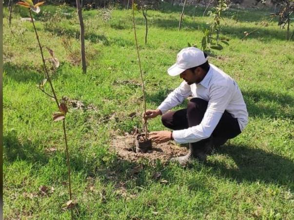 "Help Handout to plant ""Life"" in Prayagraj"