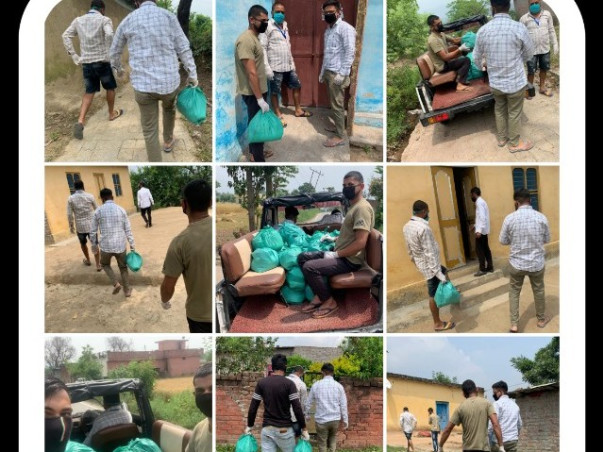 Medical help & food for Covid effected families
