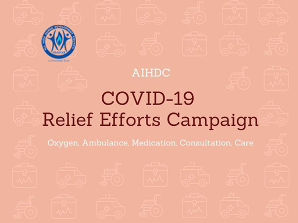 Support AIHDC Covid Relief Efforts