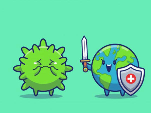 Help to fight against corona virus