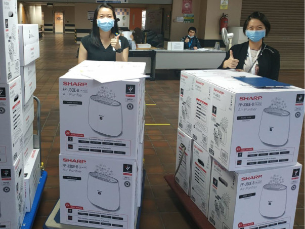 To Donate AIR PURIFIERS To Hospitals And Orphanages in Covid 19