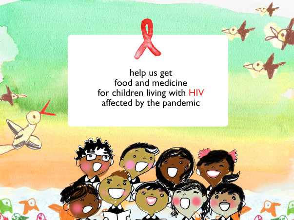 Support children living with HIV (India donations only)