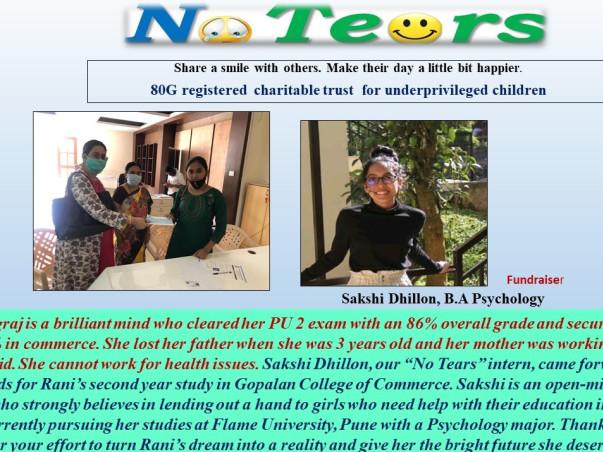 Help Rani to achieve her dream