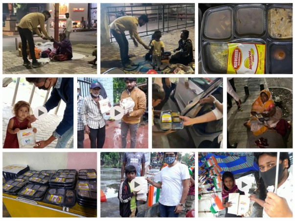 Join Hands With Angel To Raise Funds For Food Packets