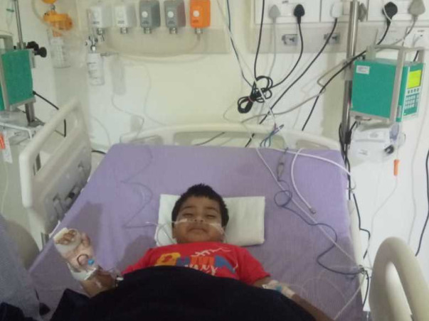 Help 3 Years Old Aithwik To Recover From Blood Cancer