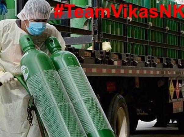 Oxygen For People by #TeamVikasNK
