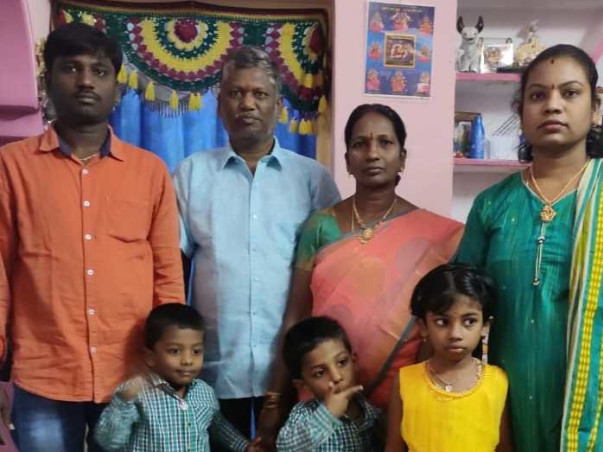 Help to financially support Vinod Kumar's Family