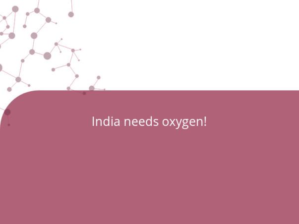 India needs oxygen!