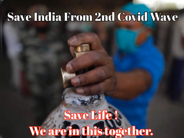 SAVE INDIA FROM 2nd COVID WAVE- Covid-19 Patients Are Out For Breath