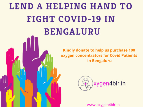 Oxygen4BLR:Save Lives by Donating an Oxygen Concentrator for Bengaluru