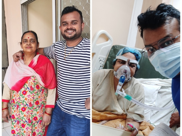 My mother is suffering from Corona. Please help us to save my mother.
