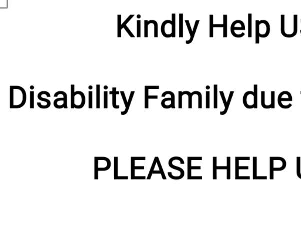 Kindly Help US