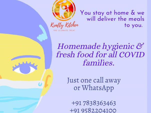 Free home made food for Covid patients