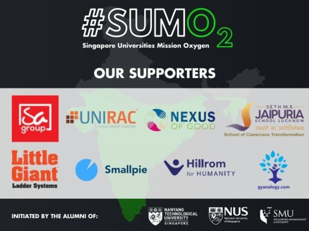 Singapore Universities Mission Oxygen (SUMO) with HillRom SG