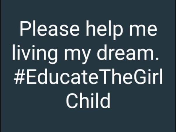 Help Me to Continue My Studies