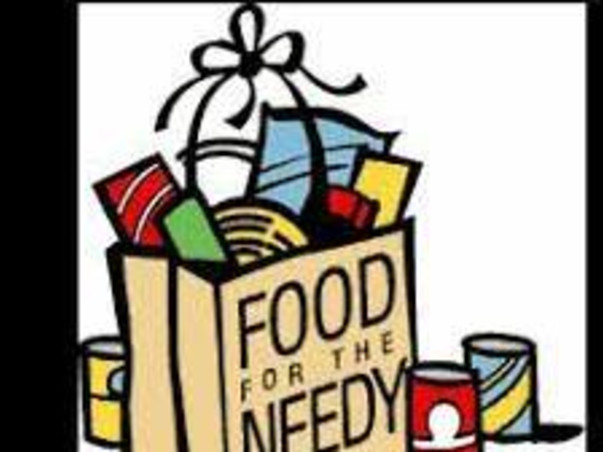 FOOD FOR THE NEEDY!