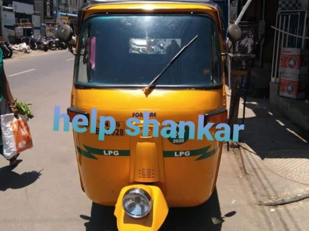 Shankar Auto Rickshaw Person Family In Struggle