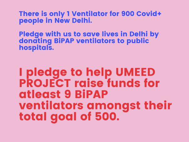 Oxygen SOS Delhi: Donate BiPAP Ventilators NOW!
