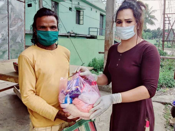 Help provide ration kits to trans people in North Bengal