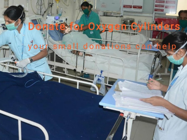 Support To Provide Oxygen For COVID-19 Patient's