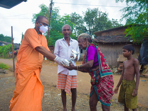 Please Support ISKCON To Provide Food To The Needy