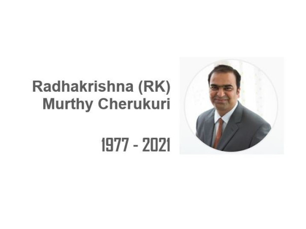 In Memory of RK – A Wonderful Human being and True Leader