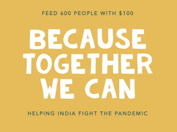 Feed The Ones in Need (₹10/$0.16 per meal)