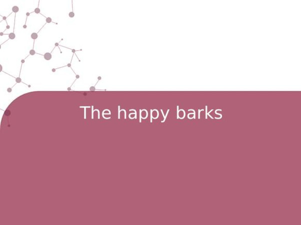 The happy barks
