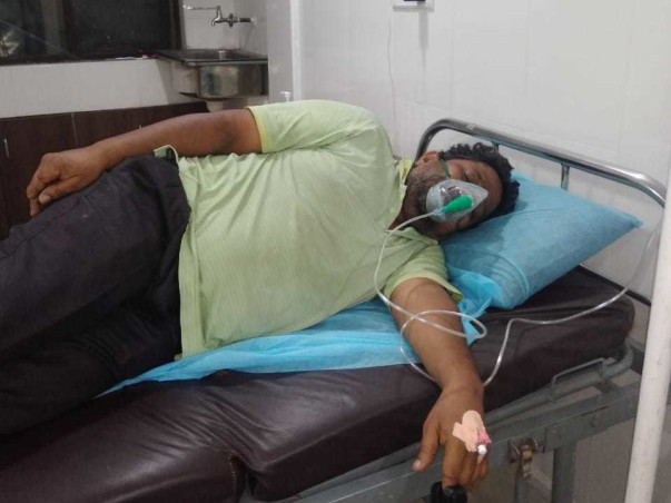 52 years old G Sureshbabu needs your help fight Covid-19