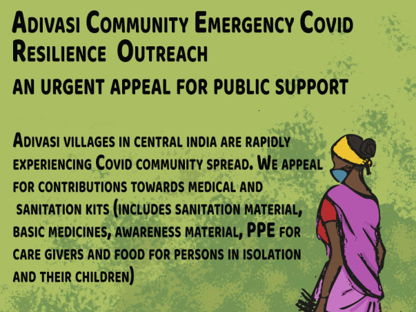 Adivasi Community Emergency Covid Resilience Outreach