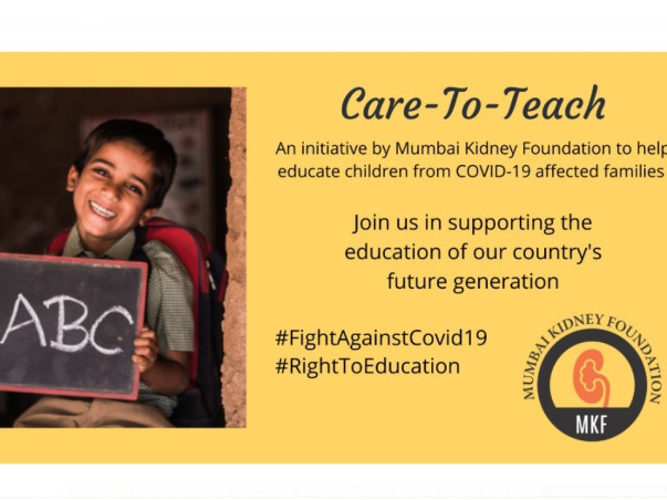 Support education of children whose families are affected by COVID-19