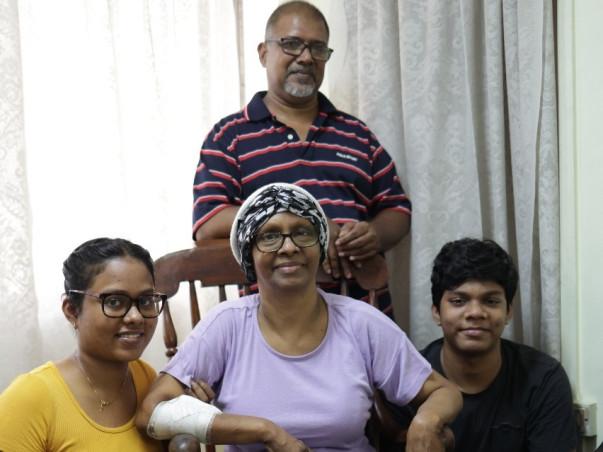 Help my mum, Astrid Gomes fight stomach cancer.